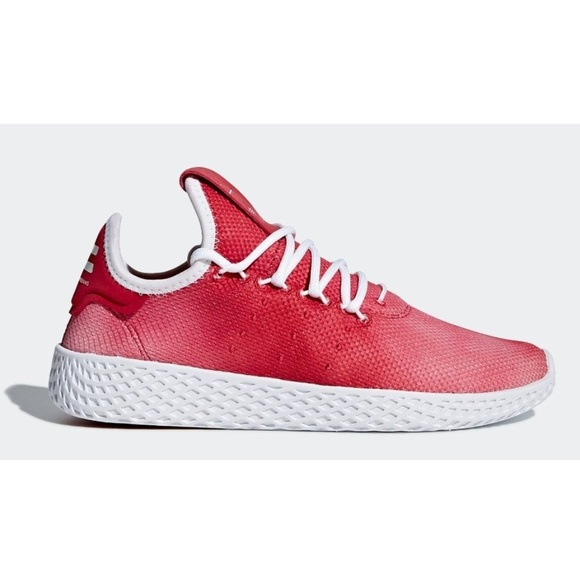 bfd757164 New Men s Adidas Pharrell Tennis HU Holi Red Shoes